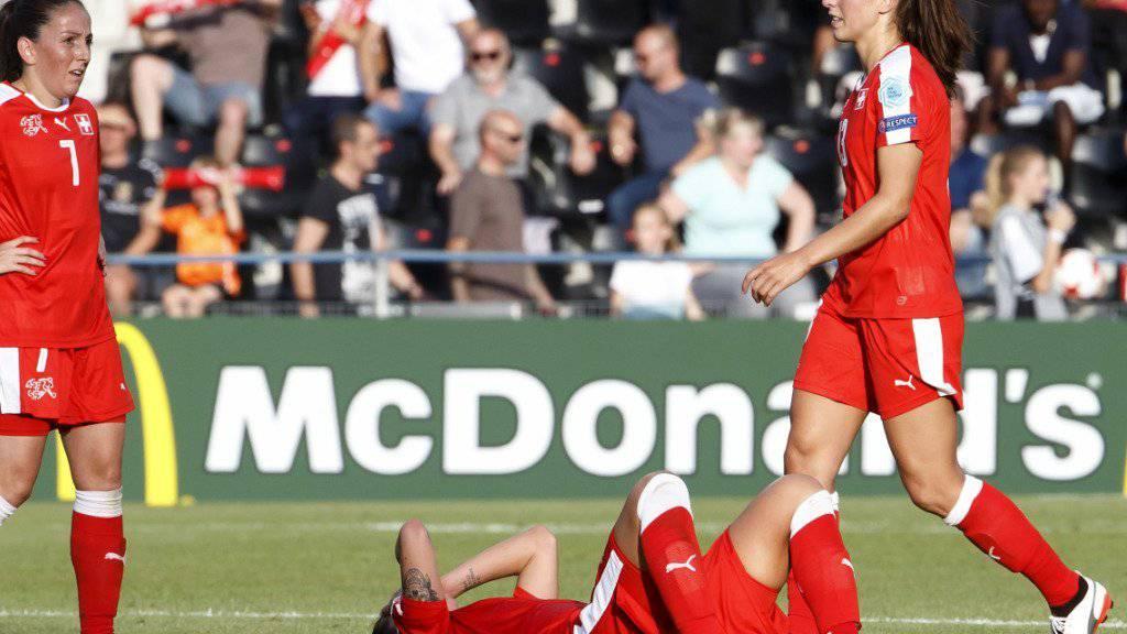 Die Schweizer Frauen-Nationalmannschaft erlitt zum EM-Auftakt gegen Österreich mit einer 0:1-Niederlage einen argen Dämpfer.