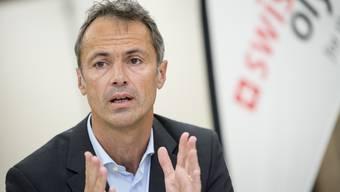 Roger Schnegg von Swiss Olympic fordert mehr finanzielle Unterstützung