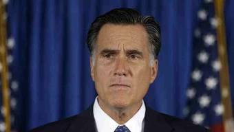 Mitt Romney gratulierte dem Amtsinhaber Barack Obama zur Wiederwahl.