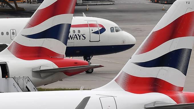 """Die Fluggesellschaft British Airways streicht """"als Vorsichtsmassnahme"""" für eine Woche alle Flüge nach Kairo. (Archivbild)"""