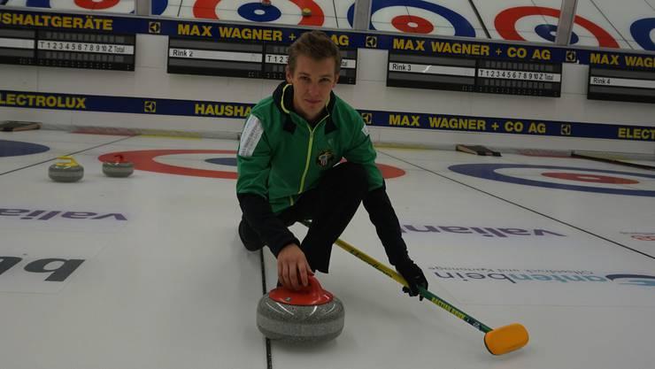 Im Februar will er mit den Team Dübendorf Schweizer Meister werden.
