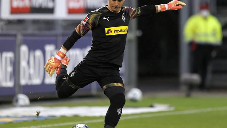 Borussia Mönchengladbach (im Bild Goalie Yann Sommer) verlor beim SC Freiburg mit 0:1
