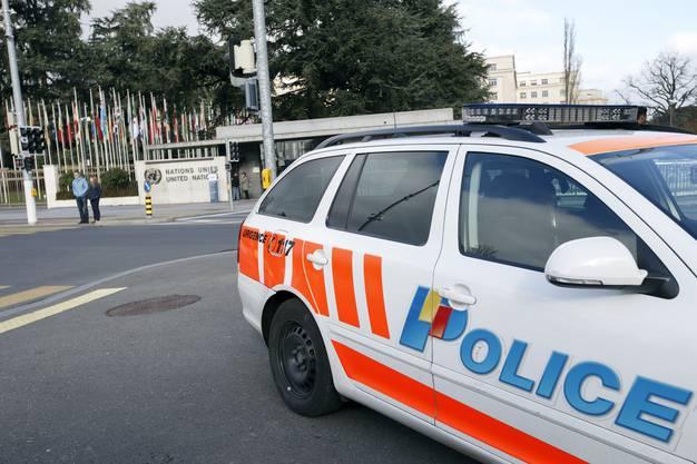 Terror-Alarm in Genf