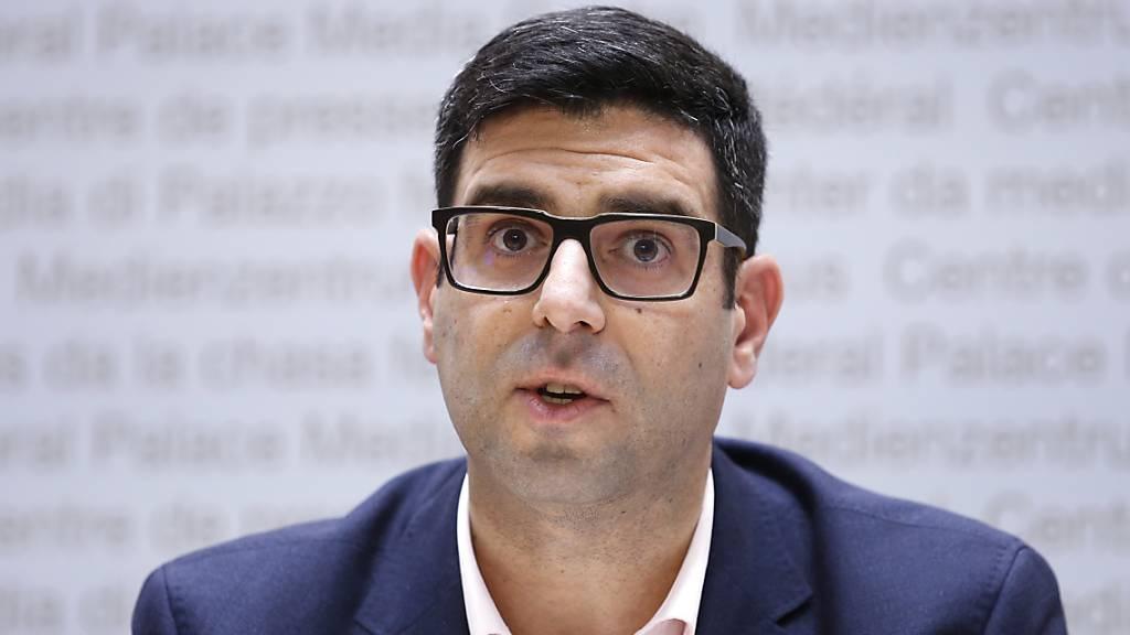 Der Zürcher SP-Nationalrat Angelo Barrile überlegt sich eine Co-Kandidatur mit einer Frau für das Präsidium der SP Schweiz. (Archivbild)