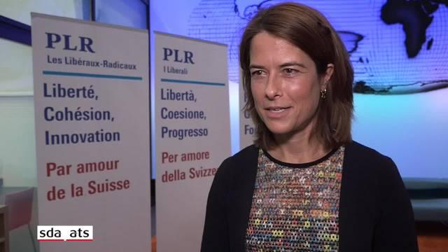 Gössi: FDP-Kandidatur soll aus der lateinischen Schweiz kommen