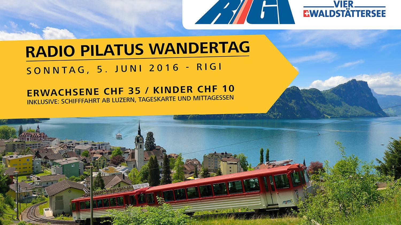 Radio Pilatus Wandertag - Rigi