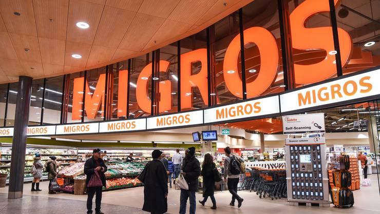 Im vergangenen Jahr verzeichnete die Migros eine erhöhte Kundenfrequenz.