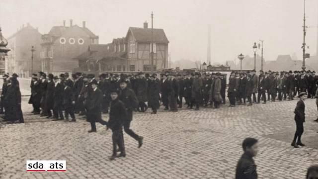 100 Jahre Generalstreik in der Schweiz wirft Schatten voraus