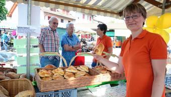 Am Dorfmäret in Obergösgen gab es für jeden Marktbesucher eine Auswahl.