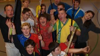 Das Unihockeyteam freut sich, am 1. April in die neue Halle einzuziehen.