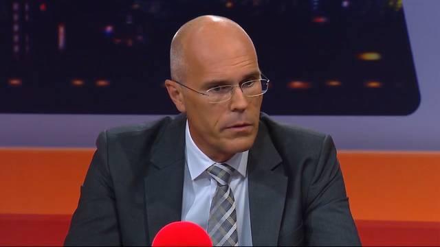 Dieter Egloff, AKB-Bankratspräsident, zum Rücktritt von Pascal Koradi: «Sein Entscheid war richtig und davor ziehen wir allen unseren Hut.»