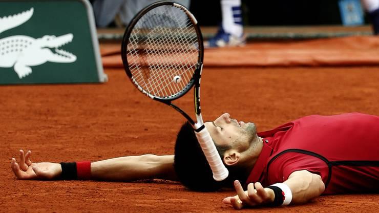Der Serbe gewinnt den Final der French Open.