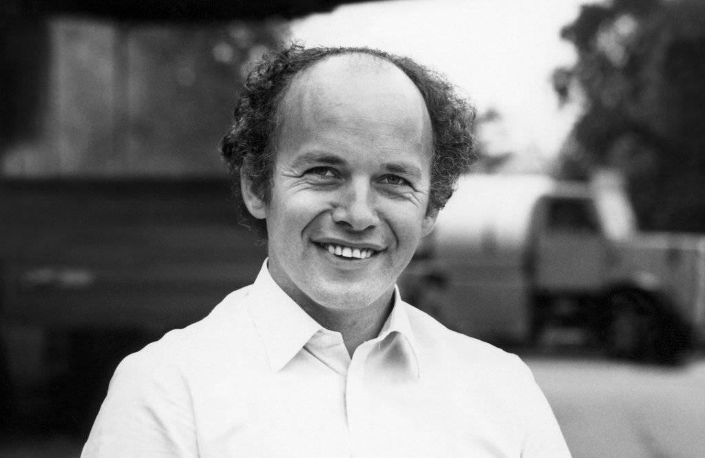 Portrait des SVP-Politikers Ueli Maurer 1987 in Zuerich. (KEYSTONE/Str)