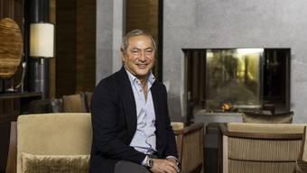Samih Sawiris in einem Andermatter Hotel (Archiv)