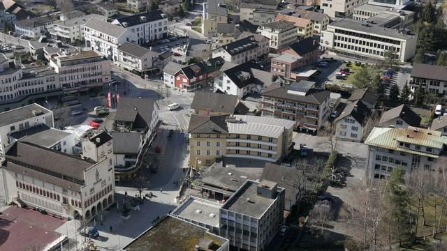 Vaduz ist der Sitz diverser Banken (Archiv)