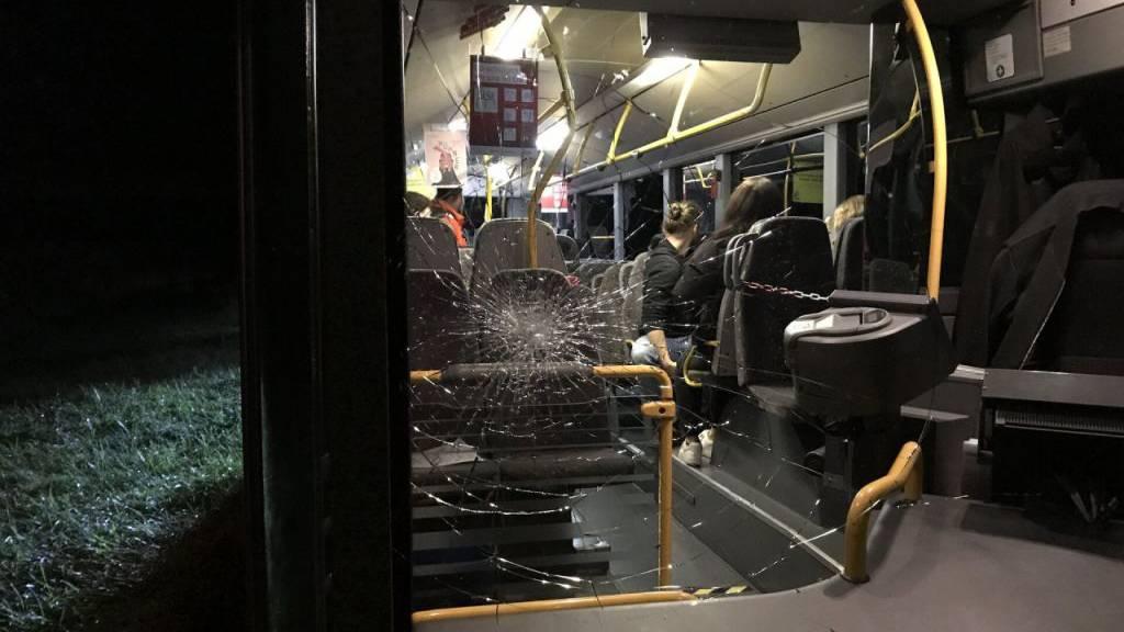 Mann randaliert in Schaffhauser Linienbus