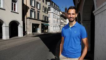 Martin Tschumi von der Vereinigung Pro Vorstadt kämpft für eine attraktive Berntorstrasse.