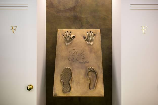 Walk of Fame von Roger Federer