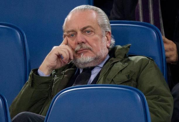 Napoli-Präsident Aurelio De Laurentiis.