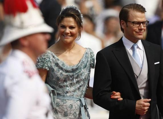 Daniel Westin von Schweden mit Kronprinzessin Victoria