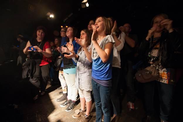 high/low city begeistern das Publikum im KiFF Aarau.