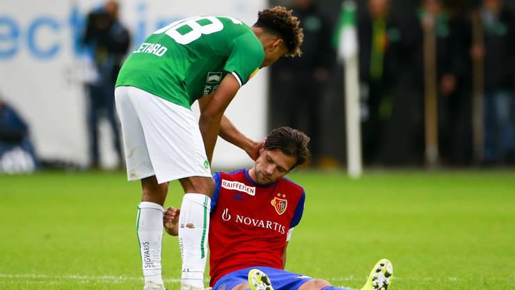 Am Ende sind die Kräfte weg beim FC Basel. Valentin Stocker und Co haben intensive Tage und Wochen hinter sich.