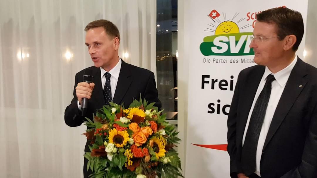 Aargauer SVP schickt Fraktionspräsident Gallati ins Rennen um Regierungssitz