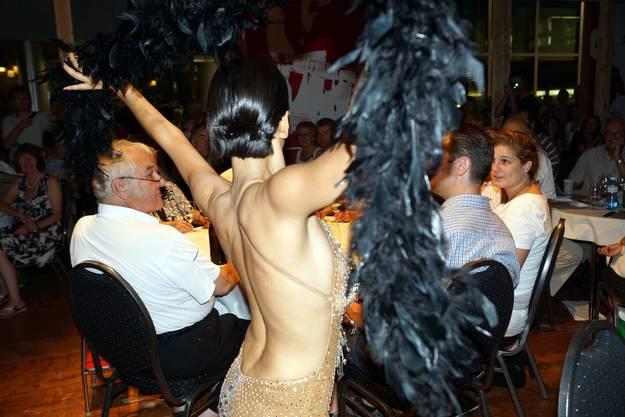 Burlesque-Show von Nanette Schneeberger