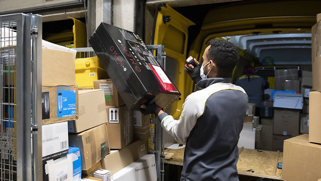 Post lieferte wegen Corona über 20 Prozent mehr Pakete