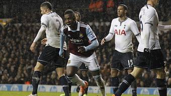 Modibo Majga schoss Tottenham aus dem Wettbewerb.