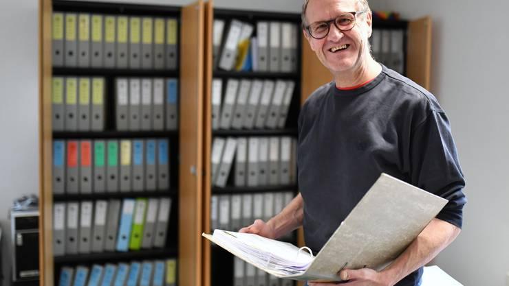 Rolf Zimmermann, Wangens Finanzverwalter, tritt in den Ruhestand.