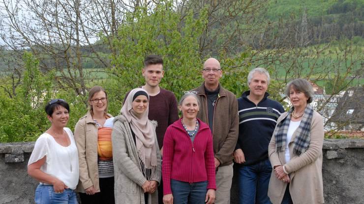 Engagierten sich für die Asylsuchenden: Mitglieder des Kernteams der Kontaktgruppe Asyl Frick.