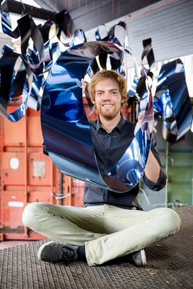 Seit drei Jahren präsentiert Pascal Etzensperger schon die GIF-Kunst am Fantoche.