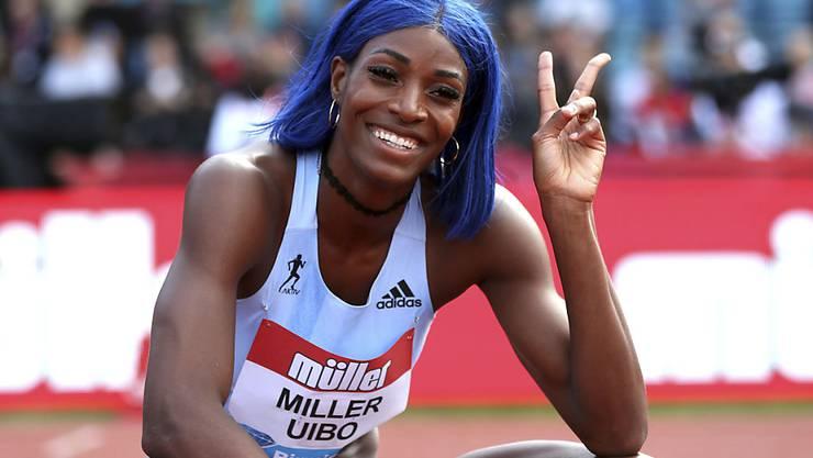 Shaunae Miller-Uibo von den Bahamas siegt in Birmingham über 200 m und wird auch in Zürich zu sehen sein