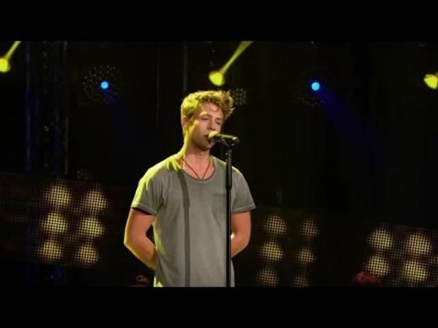 Lukas Räuftlin performt den Song «Wohin Du Gehst» bei «The Voice of Germany»