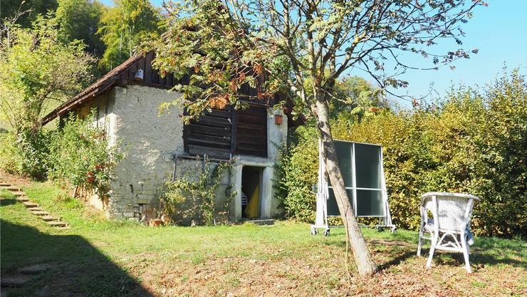Die Feldscheune Laubiberg in Liestal wird von den Anwohnern als gemeinschaftlicher Raum genutzt.