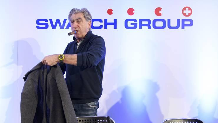 Konzernchef Nick Hayek begründet den Rückzug damit, dass traditionelle Uhrenmessen «nicht mehr sinnvoll» für das Unternehmen seien.