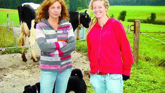 Mutter Sonja Frutiger (44) mit Tochter Melanie (19).