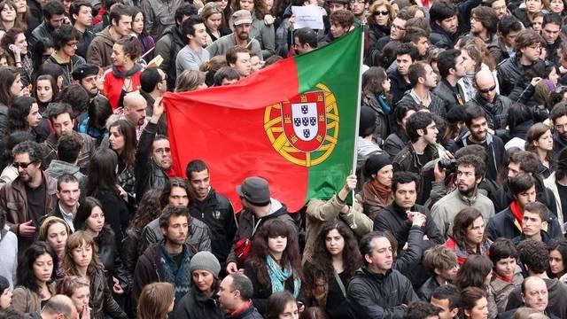 Kundgebung in der Hafenstadt Porto