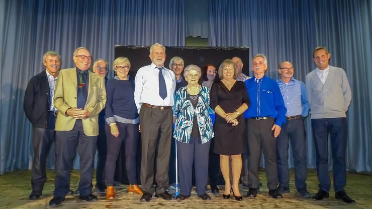 Einige ehemalige und aktuelle Mitglieder, welche im Vorstand die TgW führten.