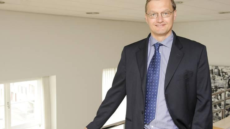 """Klaus Kirchmayr: """"Die EBZ hätte genug Zeit gehabt, eine vorbildliche Energieversorgung aufzubauen."""" (Bild: Kennet Nars)"""