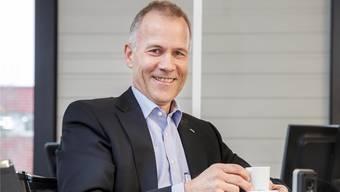 Amag-Niederlassungsleiter Andreas Iseli hat das Lachen nicht verlernt.
