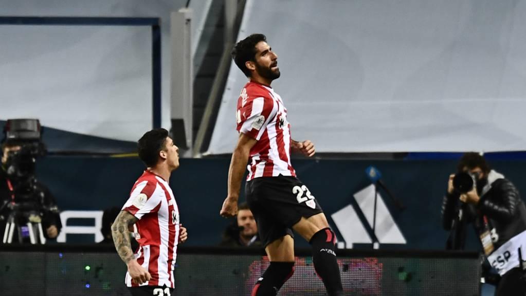 Raul Garcia hebt gegen Real ab und führt Athletic Bilbao ins Final des spanischen Supercups