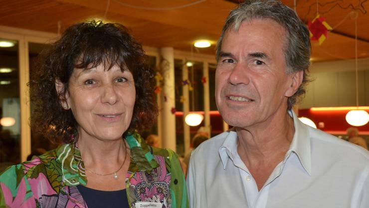 Ueli König übergab nach 15 Jahren die Organisation der Seniorenreise an Marlène Zoppelletto