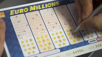 Jackpot geknackt: Im Kanton Zürich hat ein Spielschein am Dienstag die neue Schweizer Rekordsumme von rund 157 Millionen Franken gewonnen.