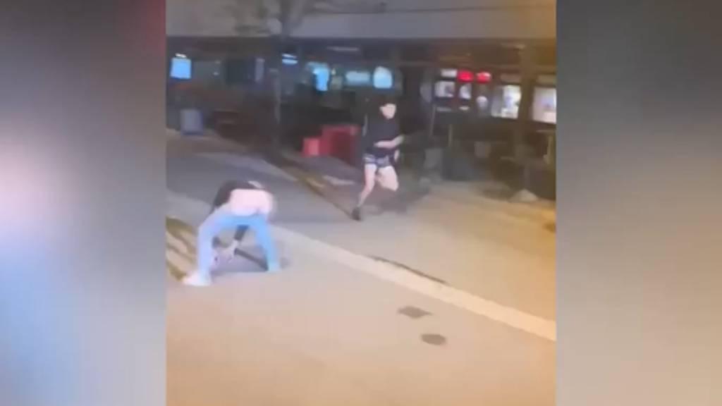 «Füdliblutte» Foto-Aktion: Sprintende Männer lösen Blitzer aus