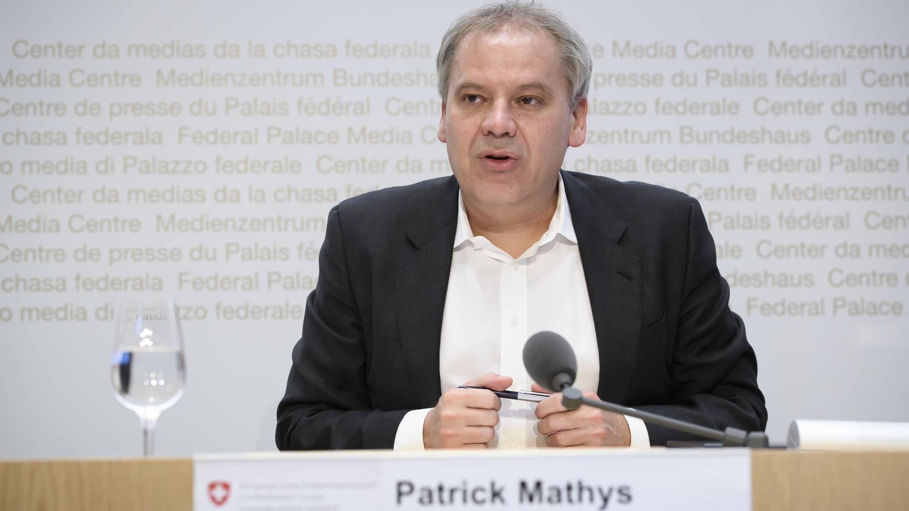 Patrick Mathys äussert sich erstmals darüber, dass das Schlimmste vermutlich vorbei ist.