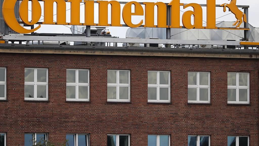 Rot wie dieses Gebäude waren auch die Zahlen von Continental (Symbolbild).