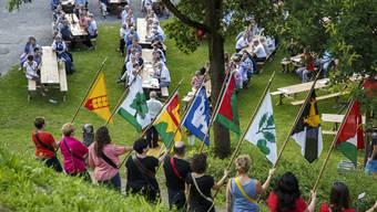 Festakt zu 625 Jahre Bucheggberg beim Kanton Solothurn