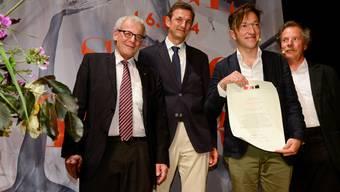 Lukas Bärfuss bekommt Solothurner Literaturpreis